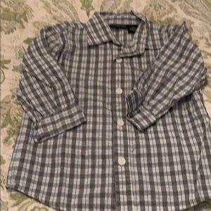 Calvin Klein button down shirt 18m